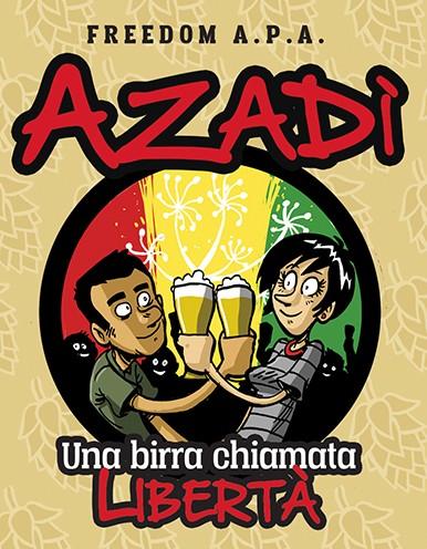 Azadi-etichetta-estesa